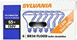 Sylvania 15172 65-Watt 130-Volt BR30 Indoor Flood Light