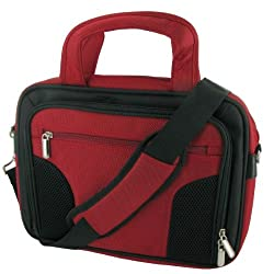 ASUS Eee PC 901 8.9-Inch Netbook Carrying Case (Deluxe Bag - Red / Black)