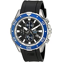 Casio EFM501-1A2 Edifice Analog Display Men's Quartz Watch (Black)