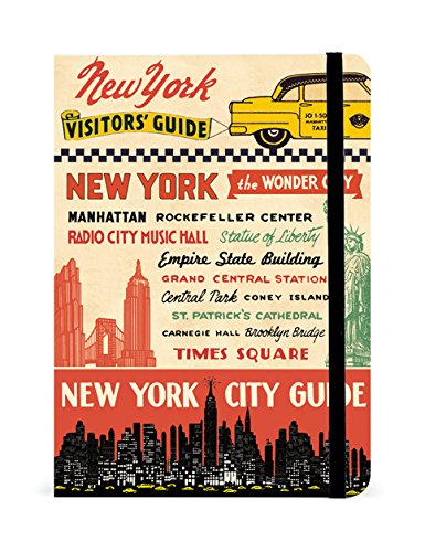 Cavallini Papers & Co. Guide Notebooks Vintage New York, 5-Inch by 7-Inch, 208 Pages Assorted Page Designs (Tamaño: 5-Inch by 7-Inch)