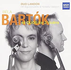 Bela Bartok: 44 Duos for Two Violins (Sz.98 / 1931)