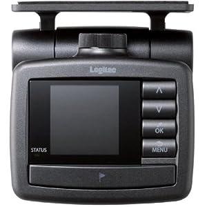 Logitec ドライブレコーダー 常時録画型 液晶ディスプレイ搭載 LVR-SD100BK LVR-SD100BK