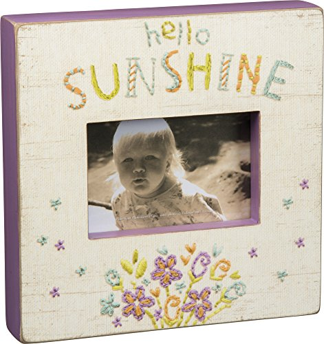 "Primitives by Kathy Hello Sunshine Box Frame 10"" Square"