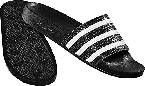 Adidas Adilette-Sandali da donna unisex adulto nero Size: 39 1/3