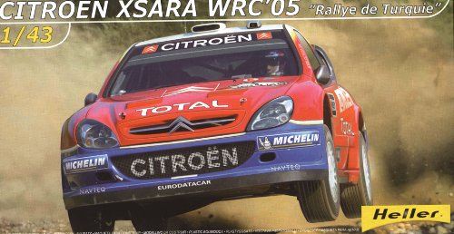 Heller Citroen XSARA WRC 05 Car Model Building Kit