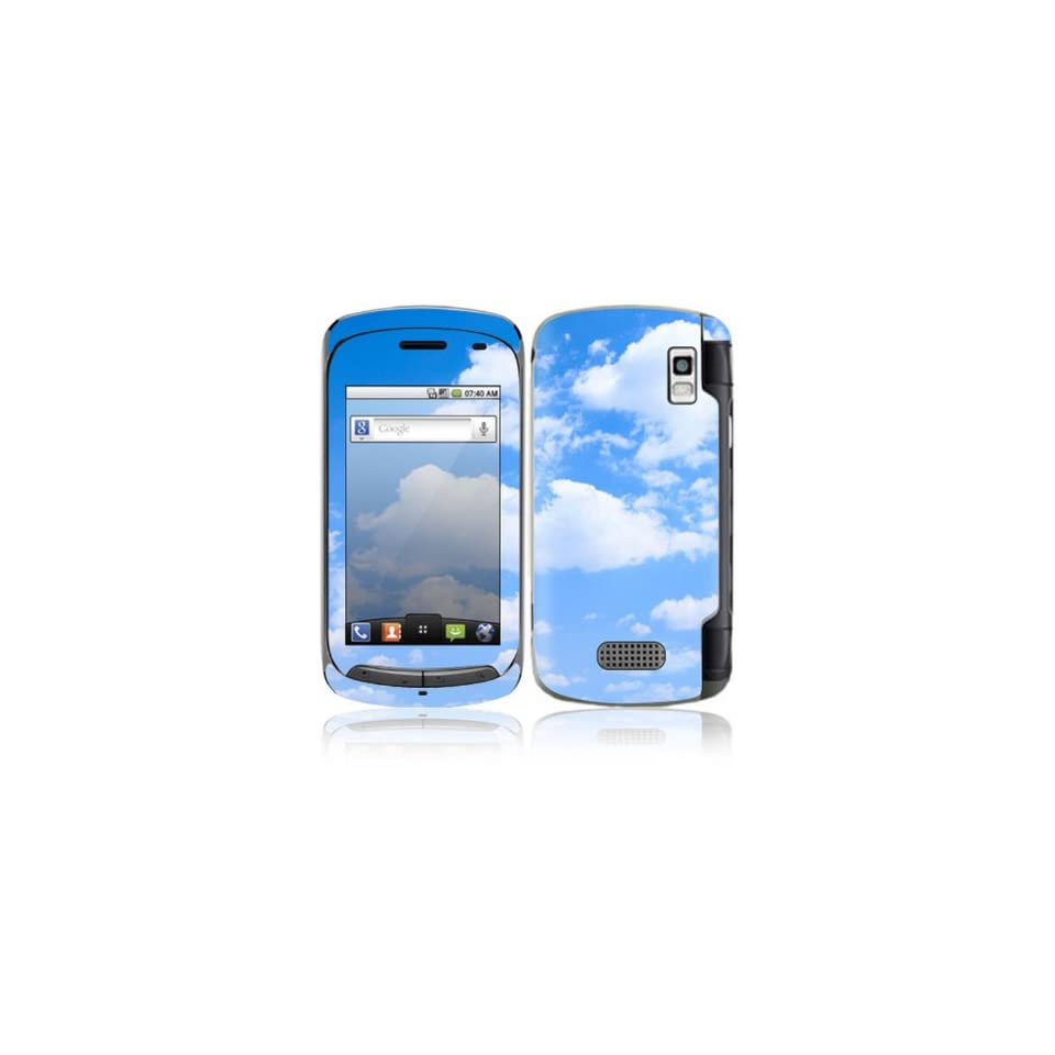 Clouds Design Decorative Skin Cover Decal Sticker for LG Genesis US760 Cell Phone