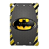 Cartoon Design The Dark Knight Batman Decorated on Ipad Mini ,Hard Plastic Case,Superhero Batman Ipad Mini Case