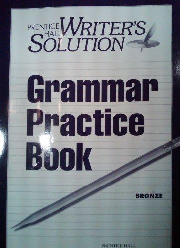 WRITERS SOLUTION GRAMMAR PRACTICE BOOK GR 7 1998C