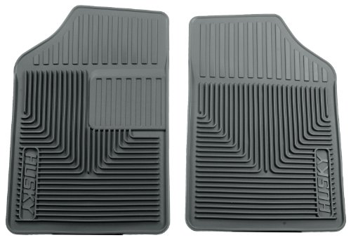 Husky Liners Custom Fit Heavy Duty Rubber Front Floor Mat - Pack Of 2 (Grey)