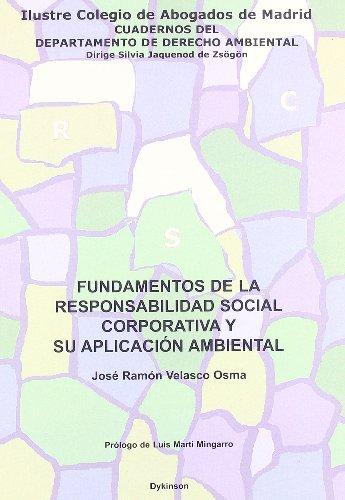 Fundamentos De La Responsabilidad Social Corporati (Spanish Edition)
