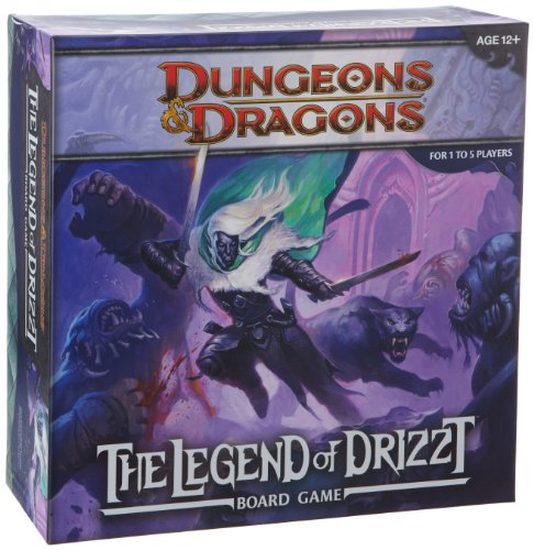 Dungeons & Dragons: The Legend of Drizzt Board Game (Heroes Quest Dice compare prices)
