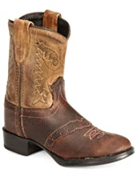 Old West Toddler-Boys' Ultra Flex Thunder Cowboy Boot