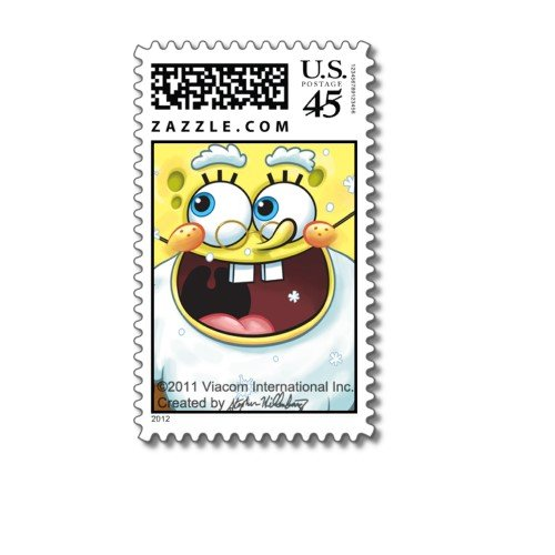 SpongeBob Square Pants: Jolly Face Postage