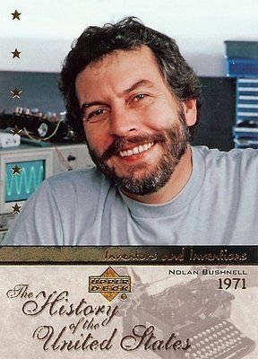Nolan Bushnell 2004 Upper Deck Trading Card #Ii48 Video Game Inventor Spacewar