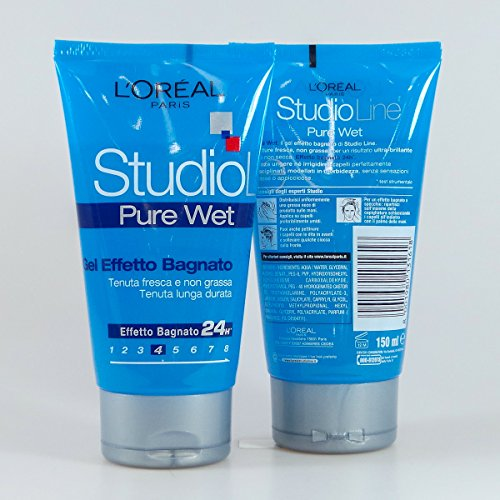 L'Oréal Paris Studio Line Pure Wet Gel Forte, 150 ml