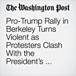 Pro-Trump Rally in Berkeley Turns Violent as Protesters Clash With the President's Supporters | Amy B Wang