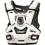 Thor MX Sentinel Protector Adult Roost Deflector Off-Road Motorcycle Body Armor - White/Black / One Size