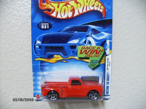 HOT Wheels Custom '69 Chevy 2002 Collector #031 - 1