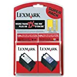 Lexmark Twin-Pack #34 and #35 - Print cartridge - High Yield - 1 x pigmented black, color (cyan, magenta, yellow)