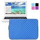 Evecase Acer Chromebook 11 Sleeve, Premium Neoprene Sleeve Case Travel Carrying Storage Computer Bag for Acer Chromebook 11 CB3-111-C670/ C720P / C720 / C710 / C7 11.6-Inch Series ChromeBook Laptop - Blue