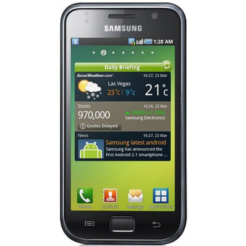 Link to Samsung I9000 Galaxy S Unlocked Cell Phone with 5 MP Camera,Android OS,Touchscreen,Wi-Fi,GPS–International Version with No U.S. Warranty(Black) SALE