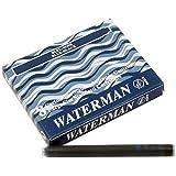 WATERMAN 【ウォーターマン】 カートリッジインク・スタンダード(8本入り) ブルーブラック (S2270220)
