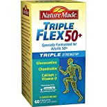 Nature Made TripleFlex, 50+, Triple Strength, Caplets, 60 caplets
