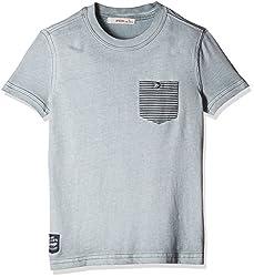 Fox Boys' T-Shirt (Light Grey_16 Y_337394)