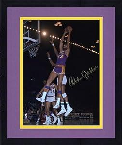 Framed Los Angeles Lakers Kareem Abdul-Jabbar Autographed 8