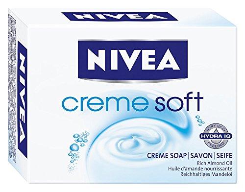 Nivea, Saponetta Creme Soft, 6 pz. da 100 g