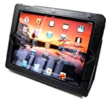 【39sオリジナル商品】Apple iPad3/iPad2専用スタンド機能付ケース(ブラック)
