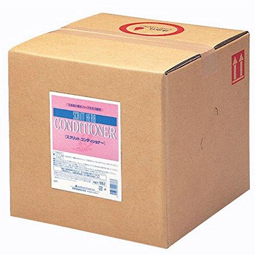 スクリット コンディショナー詰替18Lバックインボックス熊野油脂4231