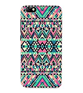 ColourCraft Tribal Pattern Design Back Case Cover for HUAWEI HONOR 4X