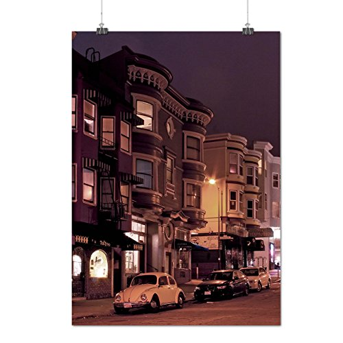 san-francisco-town-usa-city-art-matte-glossy-poster-a2-60cm-x-42cm-wellcoda