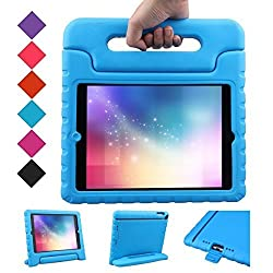 BMOUO iPad Air Case - Kids Case Shockproof Convertible Handle Light Weight EVA Super Protective Stand Cover for Apple iPad Air iPad 5th Generation - 2013 Release 9.7-inch Tablet Blue