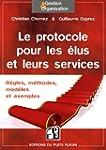 Le protocole pour les �lus et leurs s...