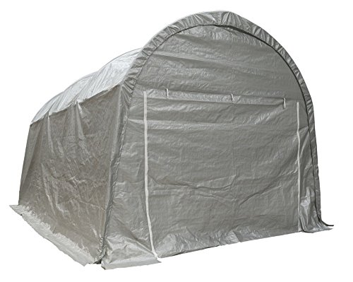 Sealey CPS03 Dome Roof Car Port Shelter Heavy-Duty, 4 x 6 x 3.1 m