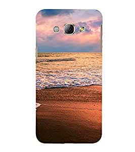 PrintVisa Travel Beach Sunset Design 3D Hard Polycarbonate Designer Back Case Cover for Samsung Galaxy A8