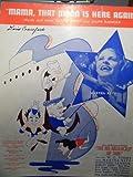 MAMA THAT MOON IS HERE AGAIN LEO ROBIN 1937 SHEET MUSIC SHEET MUSIC 303