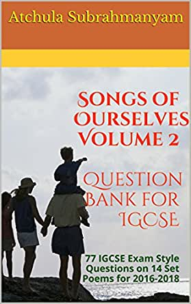 essay questions on songs of ourselves As and a level: music browse by  now we split ourselves in to groups and began to experiment using improvisation for the  marches and songs by composers such.