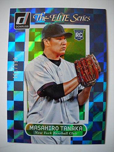 2014 Donruss The Elite Series #22 Masahiro Tanaka#151/999