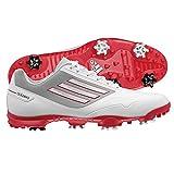 adidas Men's Adizero One Golf Shoe,R.White/University Red/Light Grey,9.5 M US