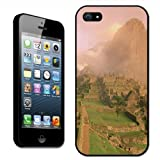 Fancy A Snuggle Sunbreak Ruins Machu Picchu Peru Clip On Back Cover Hard Case for Apple iPhone 5