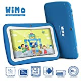 ProntoTec 7 inch KidTab C72R Android Tablet PC for Kids - Android 44 KitKat OS - Dual Core RK3026 Cortex A9 CPU Dual Cameras 4GB - Wi-Fi - Perfect gift for your love Blue