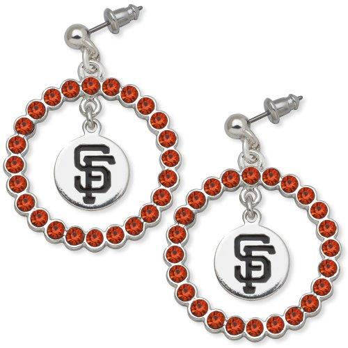 Mlb San Francisco Giants Logoart Spirit Earrings