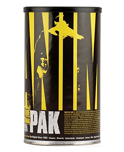 Animal Pak By Universal Nutrition - Bodybuilding Multi-Vitamin Health - 44 Packs