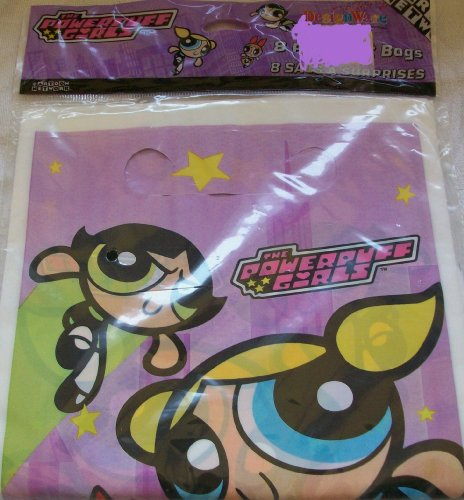 Powerpuff Girls Favor Bags (8ct)