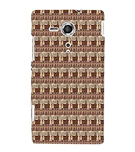 Tribal African 3D Hard Polycarbonate Designer Back Case Cover for Sony Xperia SP :: Sony Xperia SP M35h