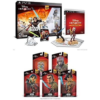 Disney Infinity 3.0 Edition Starter Pack - Rebels Bundle -Playstation 3