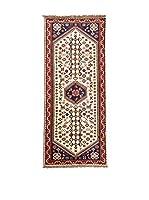 QURAMA Alfombra Persian Kaskai Beige/Multicolor 190 x 72 cm